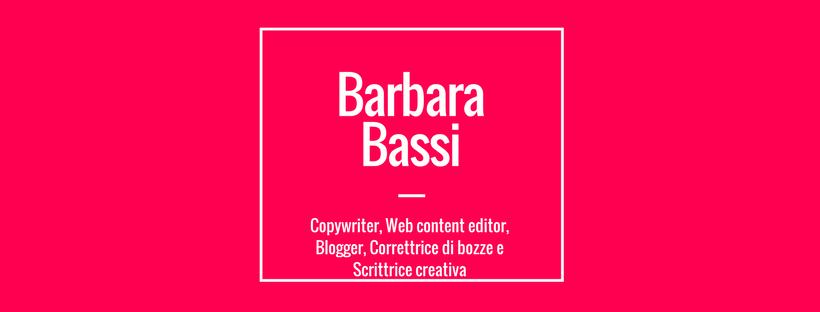 Barbara Bassi, Copywriter
