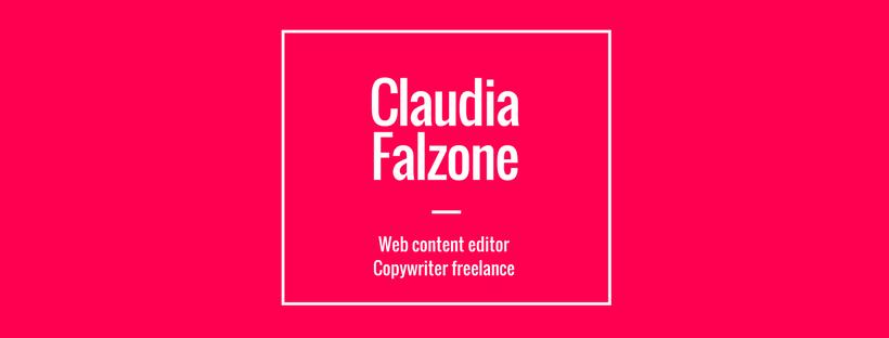 Claudia Falzone, Copywriter