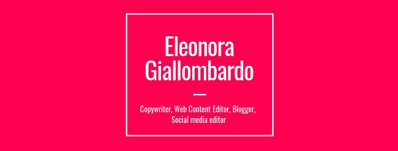 Eleonora Giallombardo, Copywriter